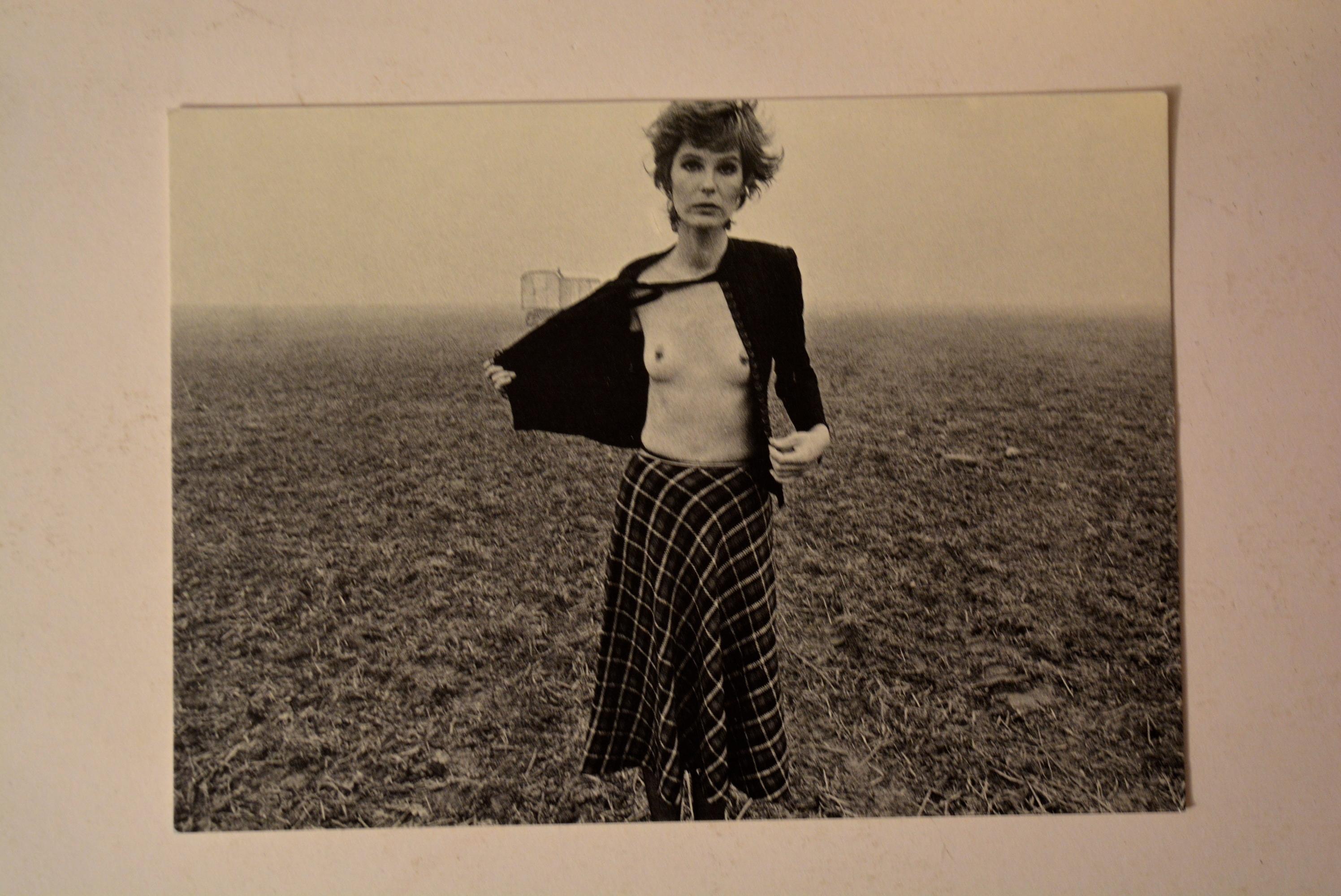 Postkarte FKK Mädchen Frau DDR 1974 Wolfgang Wandelt